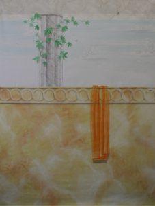 Muster Dekorationsmalerei Wellness