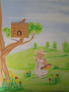 Wandmalerei für Kita