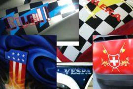 Airbrush-Beschriftungen und Logos für Ihr Fahrzeug
