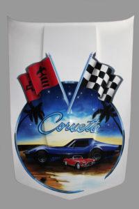 Airbrushdesign, Corvette L 82,