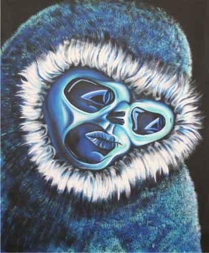 Der Eismann Inuit