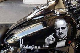 Motorrad Airbrush, Il Padrino Harley Tank