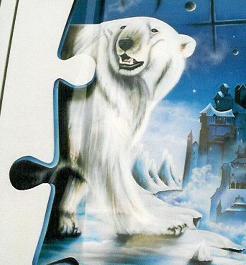 Auto-Airbrush Eisbär