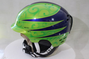Airbrush, Helmdesign, K2, Skihelm